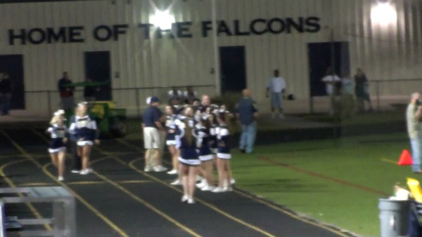 SPHS Cheerleaders & Football